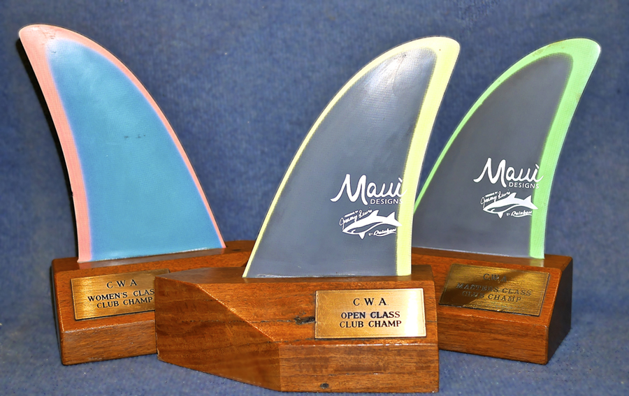 Canterbury Club Champion - Windsurf Trophies